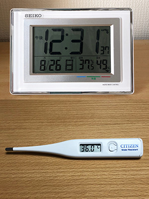 気温と体温