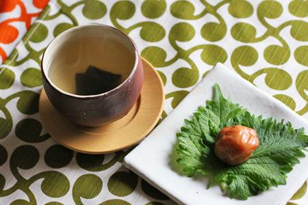 はちみつ南高梅と大葉とこんぶ茶、健康3セット